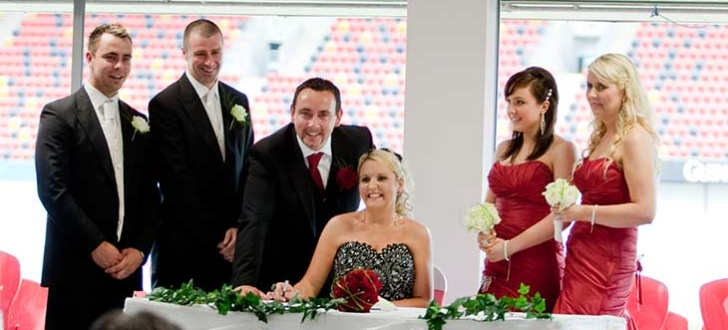 Thomond Park the great wedding reception venue in Limerick